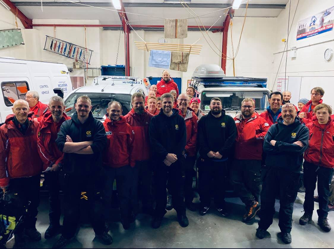 Carlton Alarms to the rescue – helping Holme Valley Mountain Rescue Team