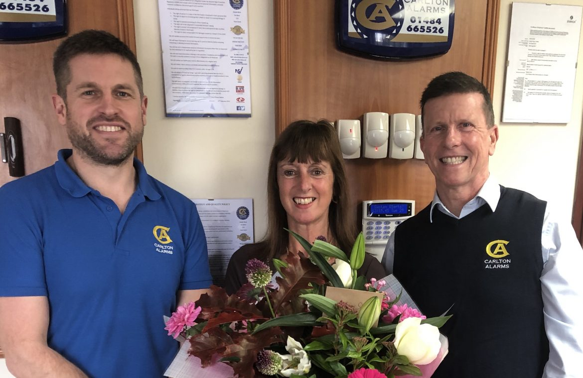 A fond farewell to Tracy after 22 years of service